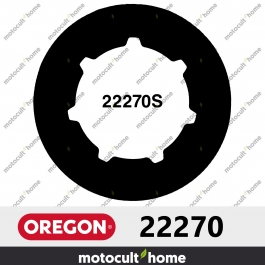 "Bague de pignon Oregon 22270 .404"" Cannelure Standard 7 (SD7)"