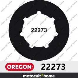 """Bague de pignon Oregon 22273 3/8"""" Cannelure Standard 7 (SD7)"""