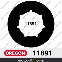 """Bague de pignon Oregon 11891 .325"""" Petite Cannelure 7 (SM7)"""