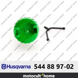 Bouchon de réservoir Husqvarna 544889702 ( 5448897-02 / 544 88 97-02 )
