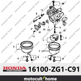 Ensemble Carburateur Honda 16100ZG1C91 (16100-ZG1-C91) (BF05C B)