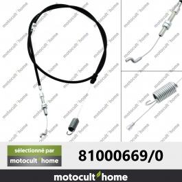 Câble de traction GGP Castelgarden 810006690 ( 81000669/0 )