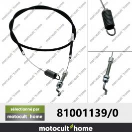 Câble de traction GGP Castelgarden 810011390 ( 81001139/0 )