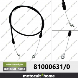 Câble de frein moteur GGP Castelgarden 810006310 ( 81000631/0 )