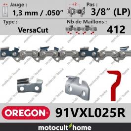 Rouleau de Chaîne de tronçonneuse Oregon 91VXL025R VersaCut 3/8