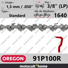 Rouleau de Chaîne de tronçonneuse Oregon 91P100R Standard 3/8