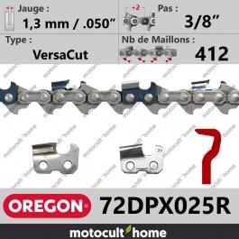 Rouleau de Chaîne de tronçonneuse Oregon 72DPX025R VersaCut 3/8