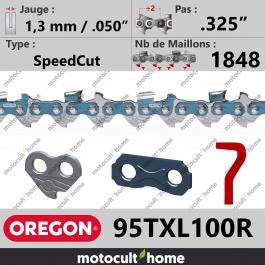 Rouleau de Chaîne de tronçonneuse Oregon 95TXL100R SpeedCut .325
