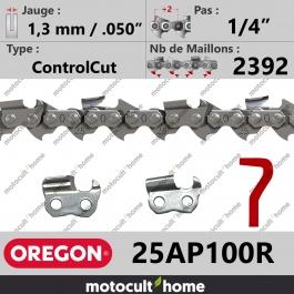 Rouleau de Chaîne de tronçonneuse Oregon 25AP100R ControlCut 1/4