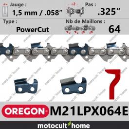 Chaîne de tronçonneuse Oregon M21LPX064E DuraCut .325