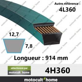 Courroie 4L360