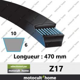 Courroie Z17