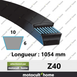 Courroie Z40