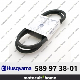 Courroie Husqvarna 589973801 ( 5899738-01 / 589 97 38-01 )
