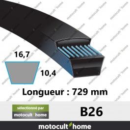 Courroie B26
