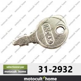 Clé de contact Husqvarna 532122147 ( 5321221-47 / 532 12 21-47 )