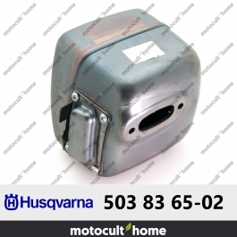 Silencieux d'échappement Husqvarna 503836502 ( 5038365-02 / 503 83 65-02 )