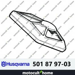 Filtre à air Husqvarna 501879703 ( 5018797-03 / 501 87 97-03 )