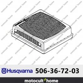 Filtre à air Husqvarna 506367203 ( 5063672-03 / 506 36 72-03 )