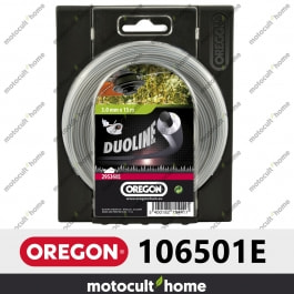 Bobine de fil Duoline armé Oregon rond 2,4mm 90m