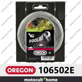 Bobine de fil Duoline armé Oregon rond 3mm 60m