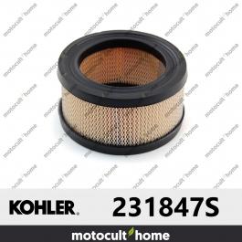 Filtre à air Kohler 231847S ( 231847-S )