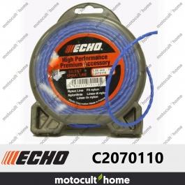 Bobine de fil hélicoïdal silencieux 3mm 10m Echo C2070110