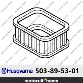 Filtre à air Husqvarna 503895301 ( 5038953-01 / 503 89 53-01 )