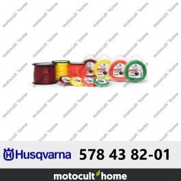 Bobine de fil rond Husqvarna 3mm 240m