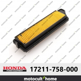 Filtre à air Honda 17211758000 ( 17211-758-000 )