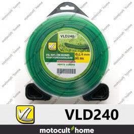 Bobine de fil rond 2,4mm 90m Verts Loisirs