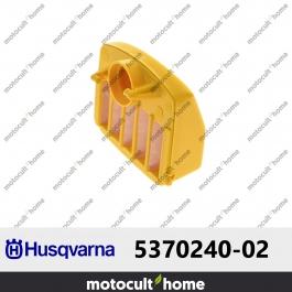 Filtre à air Husqvarna 537024002 ( 5370240-02 / 537 02 40-02 )