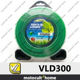 Bobine de fil rond 3mm 55m Verts Loisirs