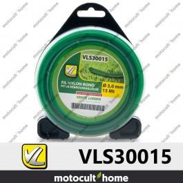 Bobine de fil rond 3mm 15m Verts Loisirs