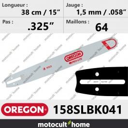 Guide de tronçonneuse Oregon 158SLBK041 Pro-Lite 38 cm