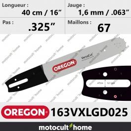 Guide de tronçonneuse Oregon 163VXLGD025 Pro-Lite 40 cm (remplace 163SLGD025 )