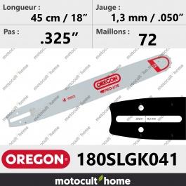 Guide de tronçonneuse Oregon 180SLGK041 Pro-Lite 45 cm