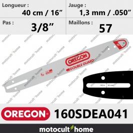 Guide de tronçonneuse Oregon 160SDEA041 Double-Guard 40 cm