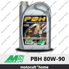 Huile minérale Minerva Oil PBH EP 80W-90 pour boîtes et ponts 2L