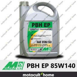 Huile minérale Minerva Oil PBH EP 85W140 pour boîtes et ponts 5L