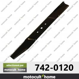 Lame de tondeuse pour MTD 7420120 ( 742-0120 )