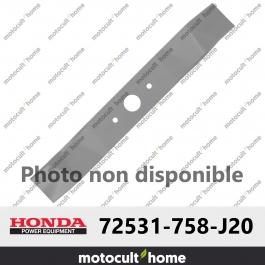 Lame de tondeuse Honda 72531758J20 ( 72531-758-J20 )