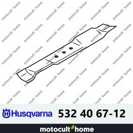 Lame de tondeuse Husqvarna 532406712 ( 5324067-12 / 532 40 67-12 )