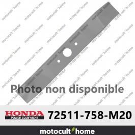 Lame de tondeuse Honda 72511758M20 ( 72511-758-M20 )