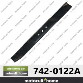 Lame de tondeuse pour MTD 7420122A ( 742-0122A )