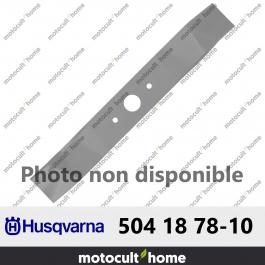 Lame de tondeuse Husqvarna 504187810 ( 5041878-10 / 504 18 78-10 )
