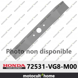 Lame de tondeuse tournante supérieur Honda 72531VG8M00 ( 72531-VG8-M00 )