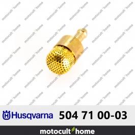 Crépine d'huile Husqvarna 504710003 ( 5047100-03 / 504 71 00-03 )