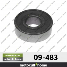Roulement de palier Ø ext. 40 mm Ø int. 16 mm ht. 12 mm