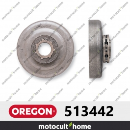 "Pignon Oregon 513442 .325"" Power Mate Petit 7 (SM7)"